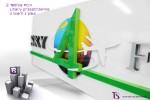 """Portfolio-Tablica 3d """"Sky 4 Fly"""""""