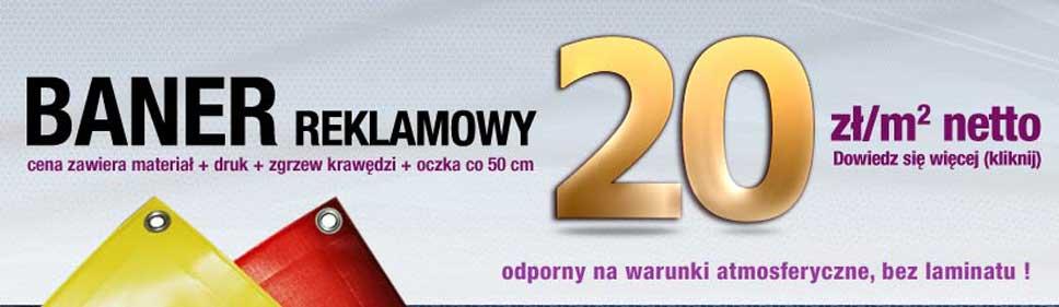 Druk banerów - 2 LATA GWARANCJI, wysoka jakość!